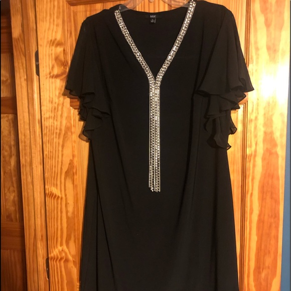 MSK Dresses & Skirts - MSK Black Dress XL